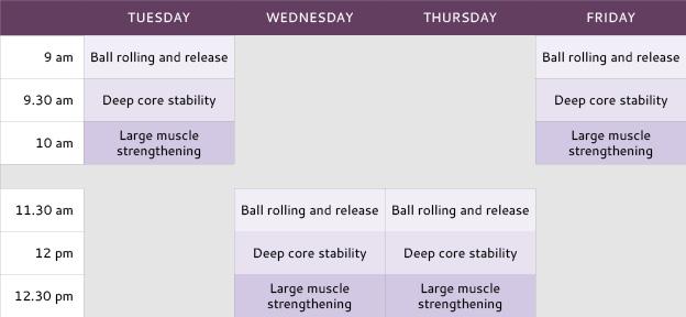 VQW-class-schedule
